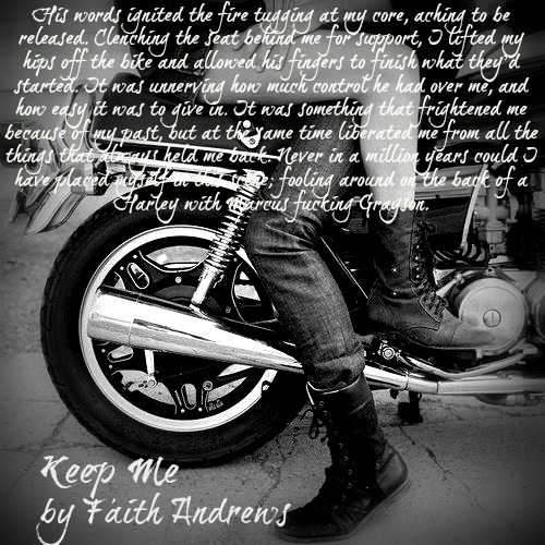 Keep Me bike teaser