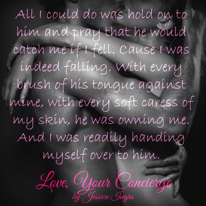 TEASER ALERT: Love, Your Concierge by Jessica Ingro