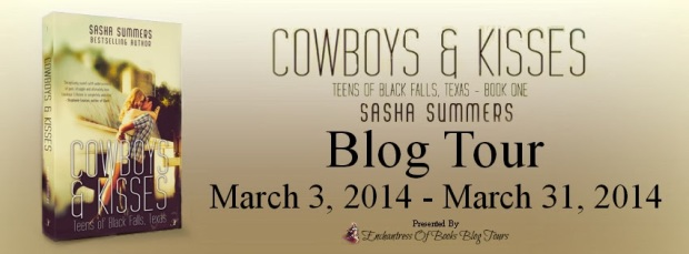 Cowboys & Kisses Blog Tour Banner