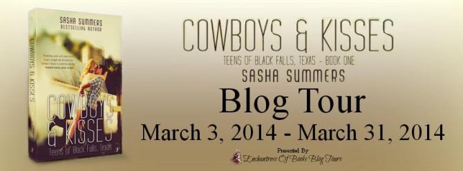 Cowboys & Kisses Blog Tour Banner