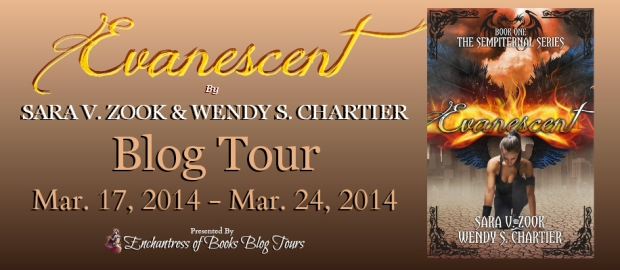 Evanescent Blog Tour Banner