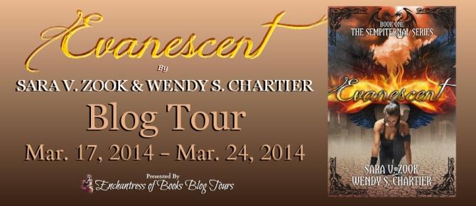 Evanescent Blog Tour Banner