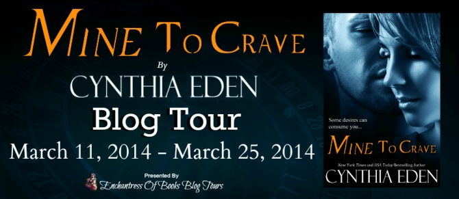 MINE TO CRAVE blog tour Banner