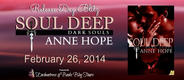 Soul Deep by Anne Hope Release Day Banner