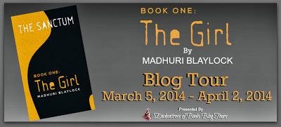 The Girl Blog Tour Banner